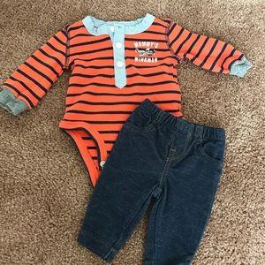 EUC Carter's Outfit